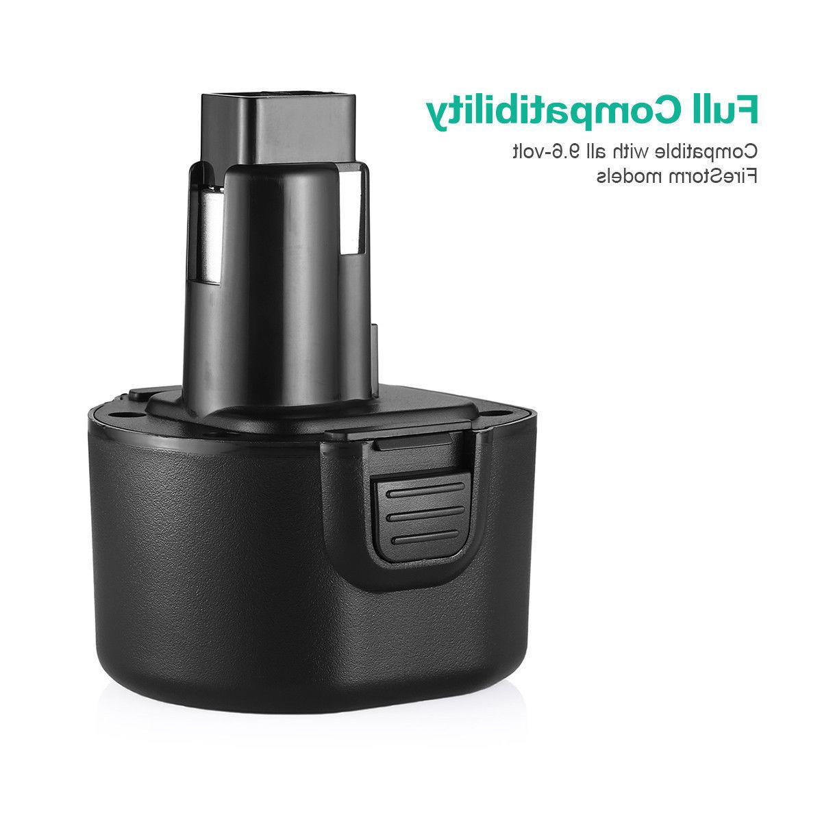 9.6V 3.0Ah Replacement for & PS120 Drill