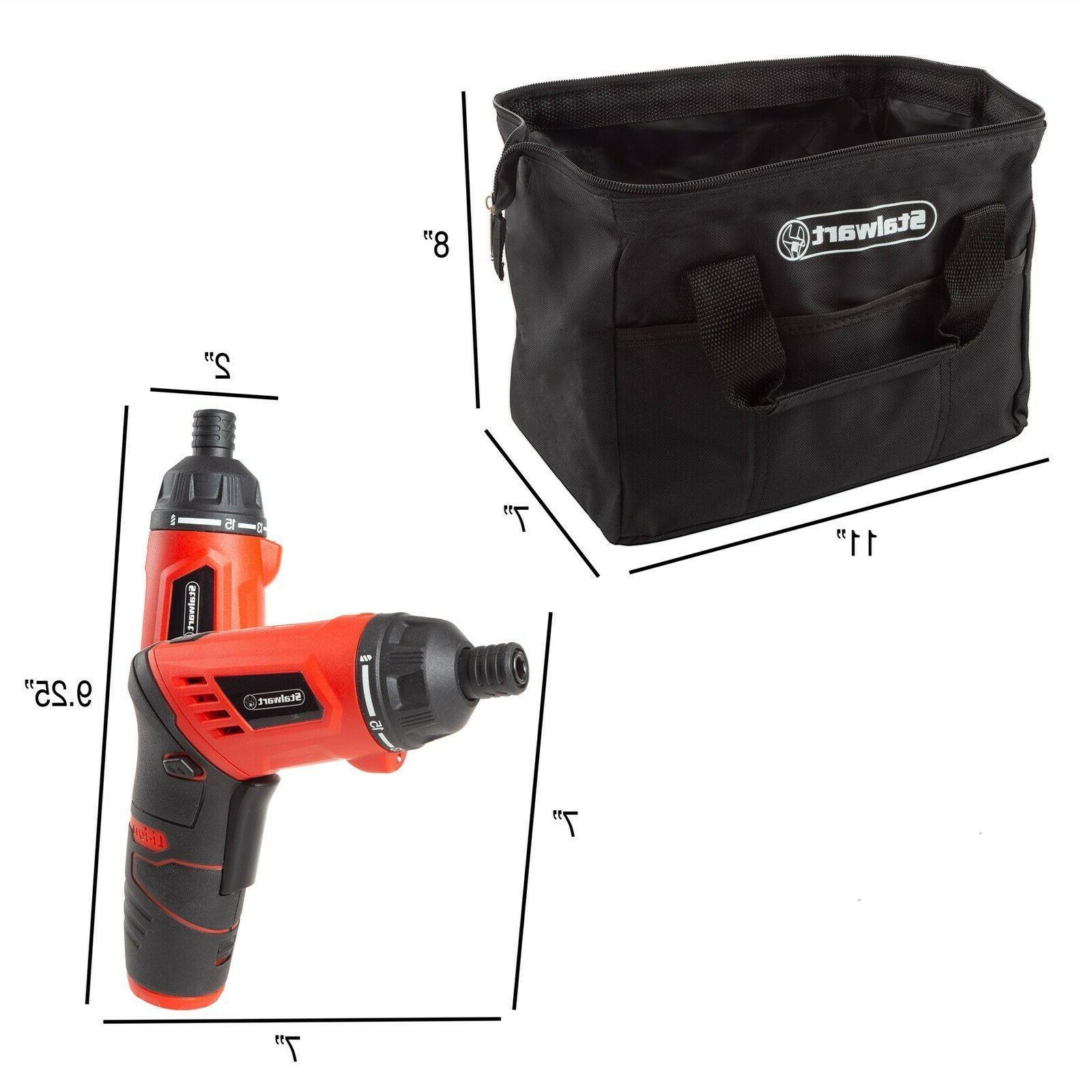 Stalwart Cordless Set Home Portable Kit