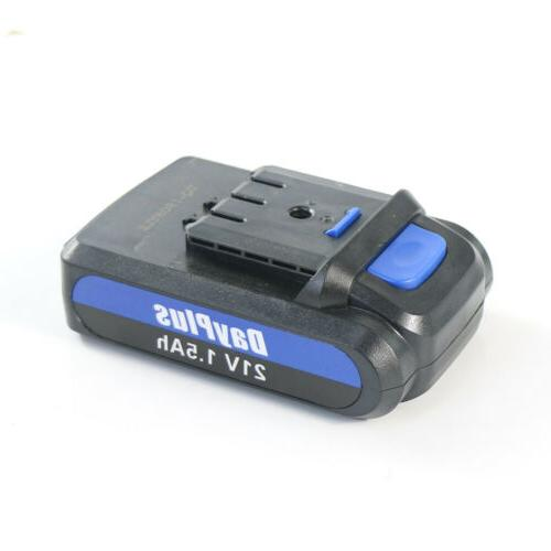 "3/8"" cordless drill driver drill battery"