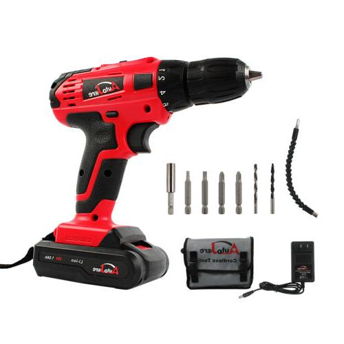 """3/8"""" kit driver battery and charger tool 20V"""