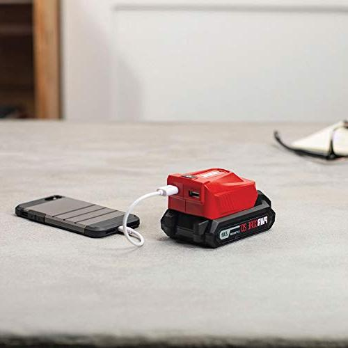 SKIL 20V Cordless Drill Driver, Driver and USB Charging Includes Lithium Battery - CB739101