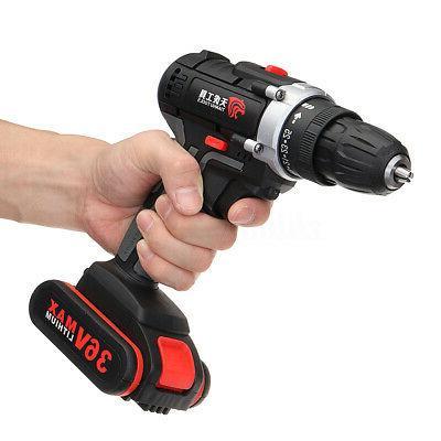 36V Drill Impac Worklight & Li-ion Battery