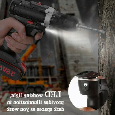 36V Electric Impact Drill High-power Drills S8Z2