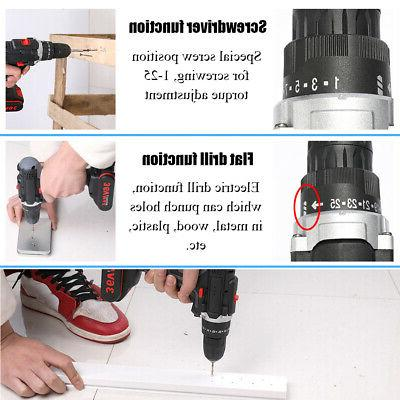 36V Drill Wireless Power Tools