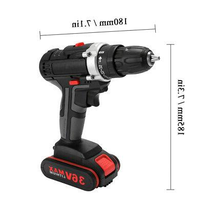 36V Electric Drill Rechargeable Power X9P7
