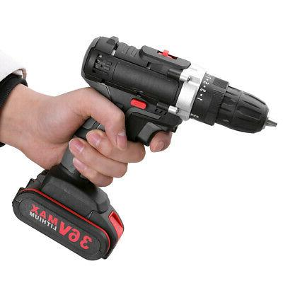 36V Drill Rechargeable DIY Power