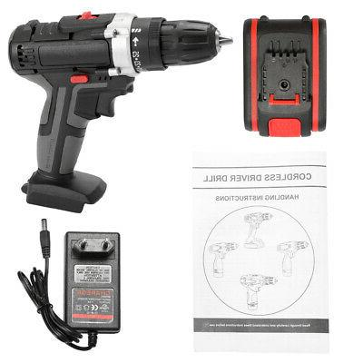 36V Impact Drill Power