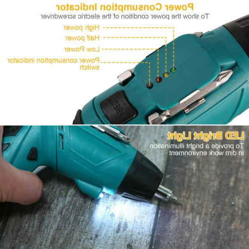 45 in Wireless Cordless Electric Drill