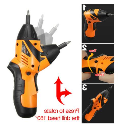 45 Tool Rechargeable Screwdriver