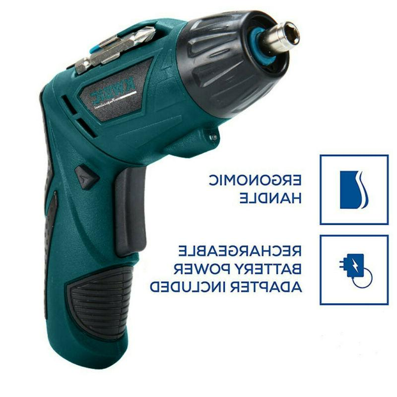 45 Wireless Cordless Screwdriver Rechargeable