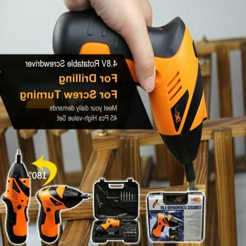 45 in1 Rechargeable Wireless Cordless Kit Power Tools