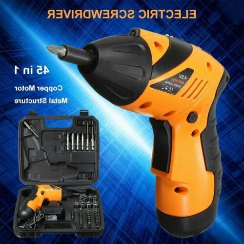 45 in1 rechargeable wireless cordless electric screwdriver