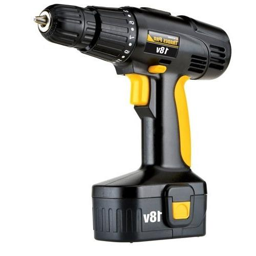 836710 18 volt cordless drill by