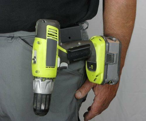 Left Tool Holster in the
