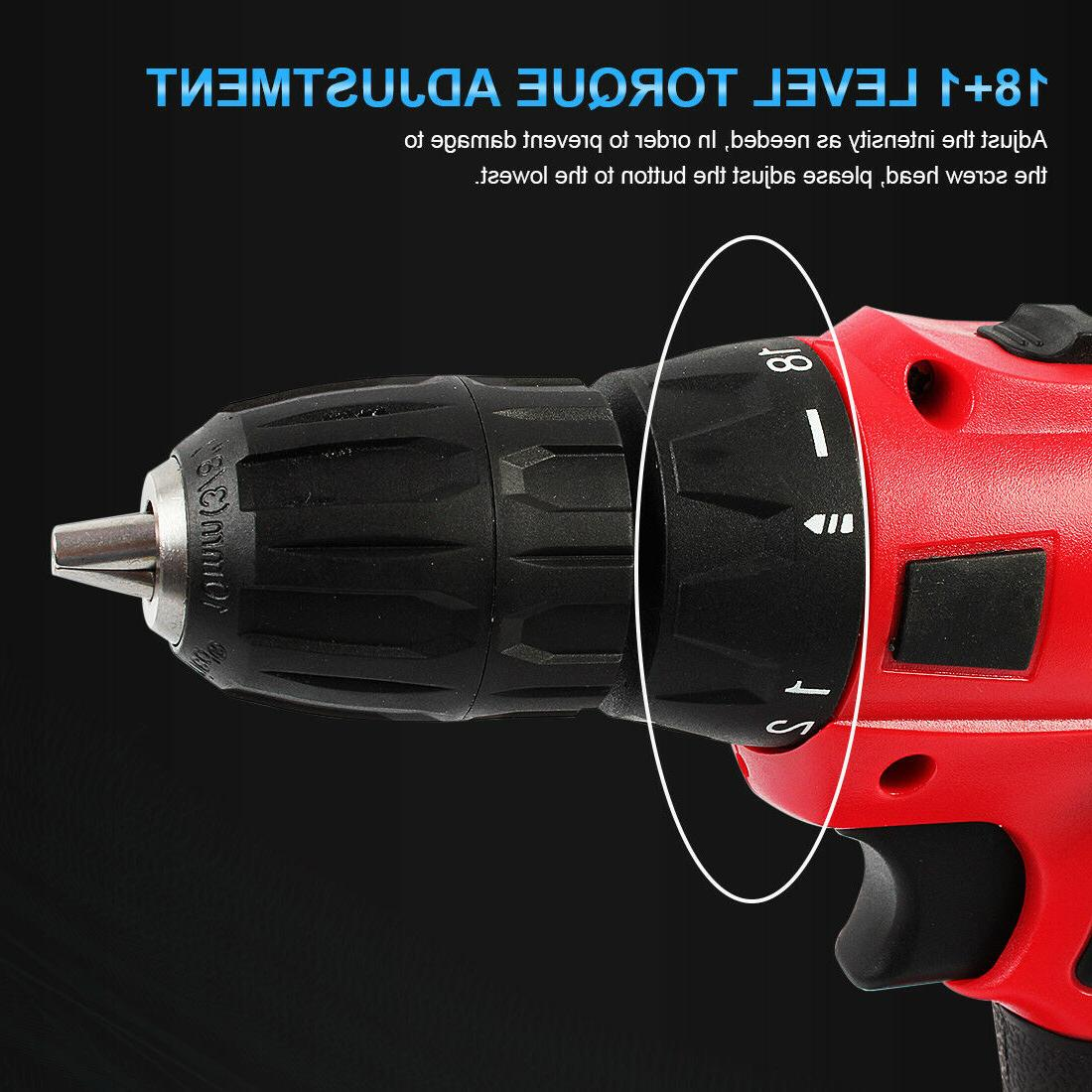 Portable Drill Li-Ion Electric Repair max