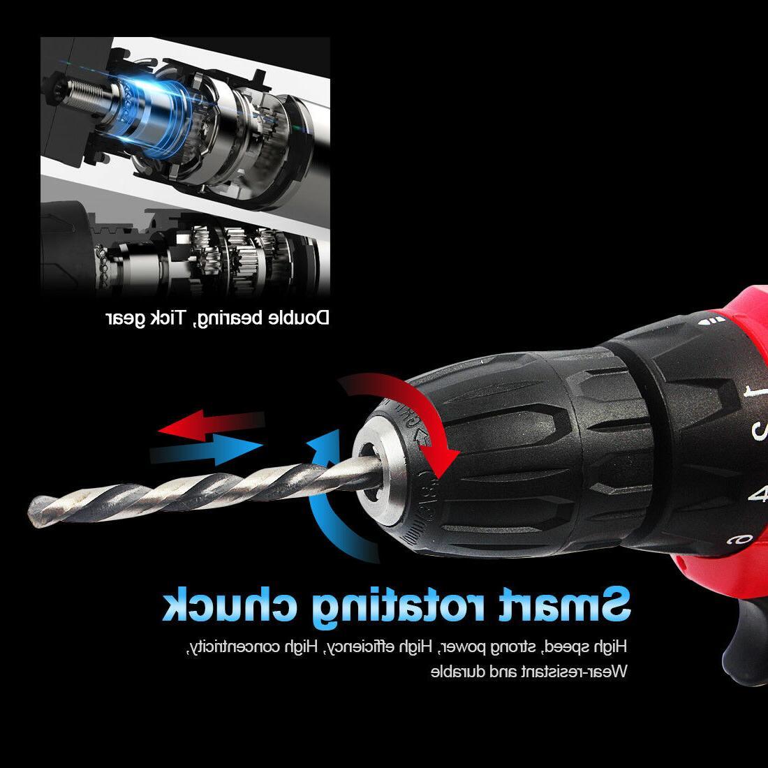 Portable Drill Electric Repair Set 18v max