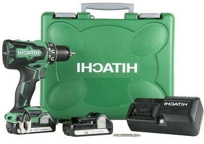 "NEW - Hitachi DS18DBFL2 18V Li-Ion 1/2"" Brushless Cordless D"