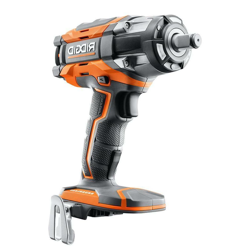 """NEW - RIDGID R86011B 18v 1/2"""" Cordless Impact Wrench Brushle"""