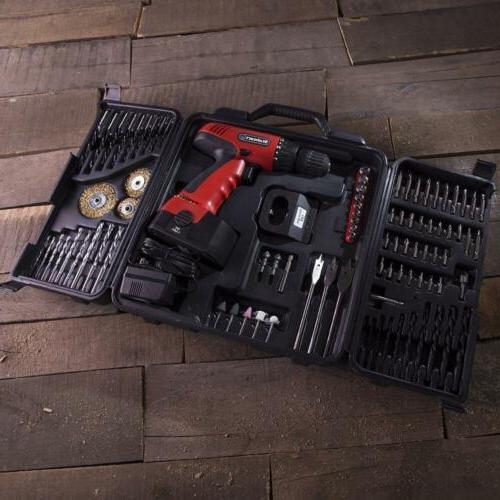 Stalwart 18V Cordless Drill Set,