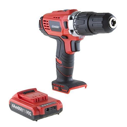 Stalwart 75-PT1005 Ion 62 2 Speed Hammer Drill & Accessory