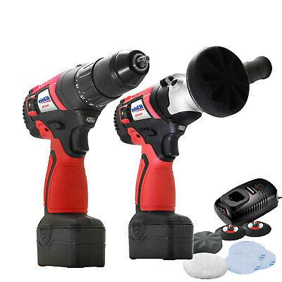 "ACDelco A20 2-Tool Brushless Cordless Combo Kit- 3"" Polisher"