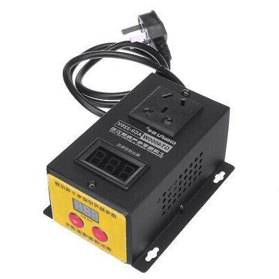 AC 4000W Variable Voltage Regulator Power Motor Fan Control Con