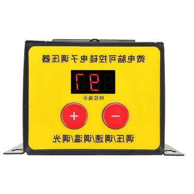 AC 4000W Variable Voltage Power Drill Motor Fan Con