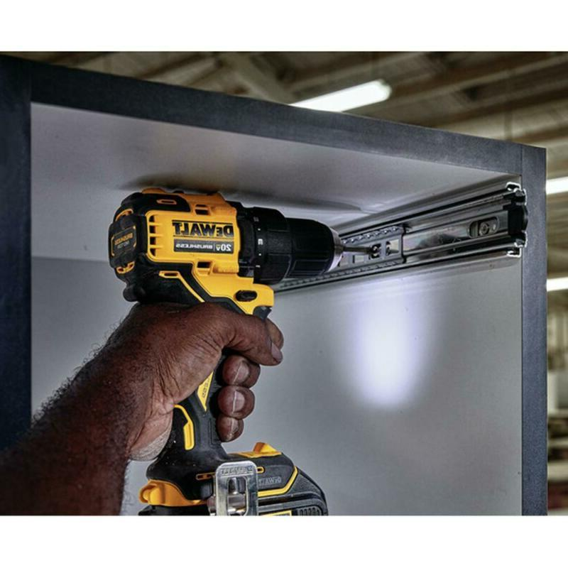 ATOMIC Lithium-Ion Brushless Cordless Compact 1/2 in. Drill