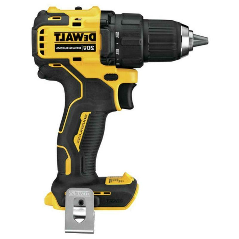 ATOMIC 20-Volt Brushless in. Drill Driver