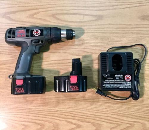 """B&D Kit 3/8"""" 14.4V Batteries Cyclone 2874K-2"""