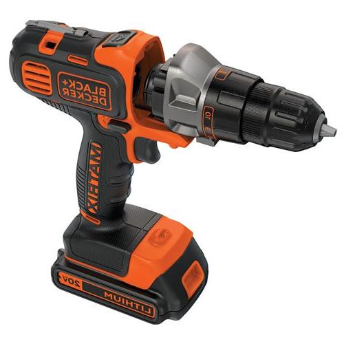 Black Decker 20V Matrix Drill Kit