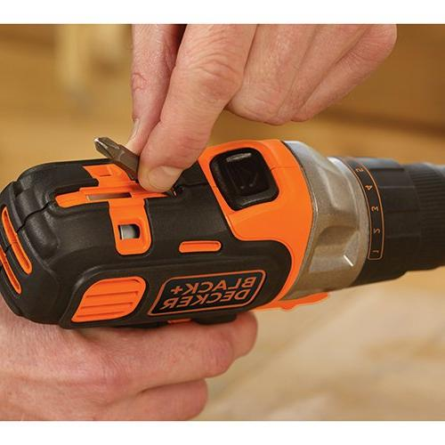 Black & Decker 20V Matrix Drill Driver