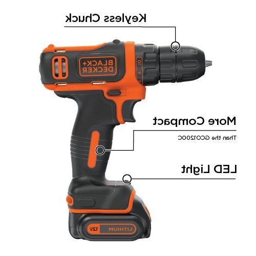 BLACK+DECKER MAX Drill/Driver