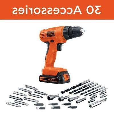 BLACK+DECKER 20-Volt Lithium Accessories