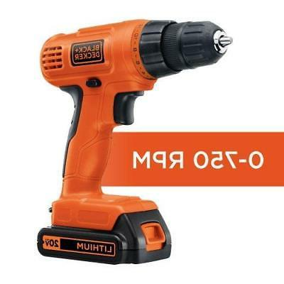 BLACK+DECKER LD120VA 20-Volt Max Lithium with Accessories