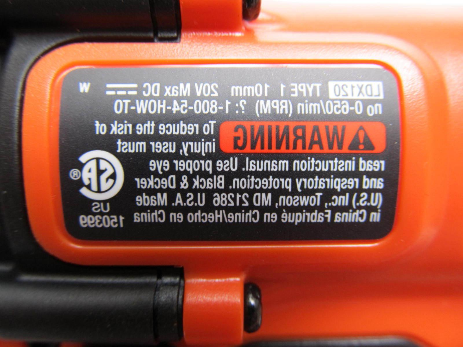 Black Decker 20-Volt Light