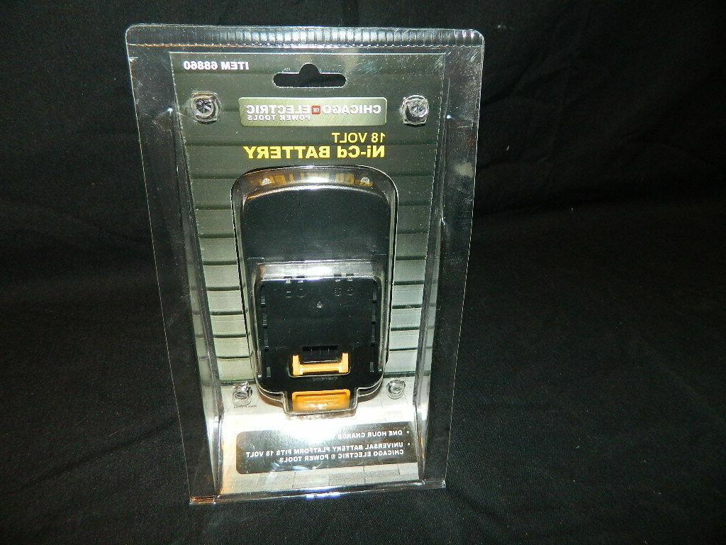 brand new 18v 1500mah nicd quick battery