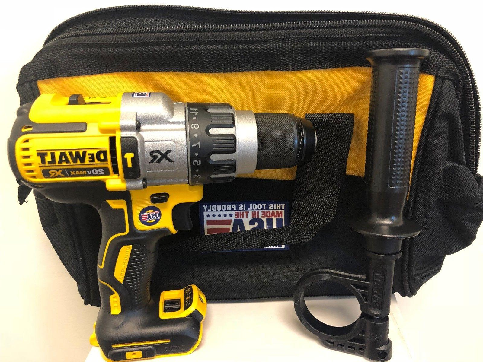 Brand New DEWALT DCD996B 20V MAX Brushless 3-Speed Hammerdri