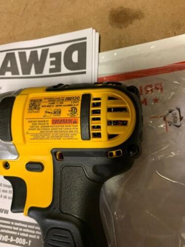 "BRAND NEW - Dewalt DCF885 1/4"" Impact Drill"