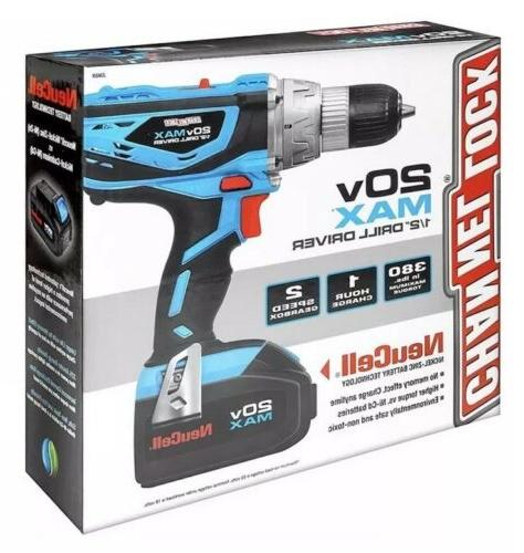 channel lock 20v max 1 2 cordless