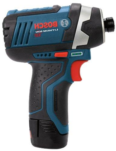 Bosch Power Tools Drill Kit - - Impact Driver, Cordless Drill Set - Includes Drills, Two Batteries, 12V Charger,
