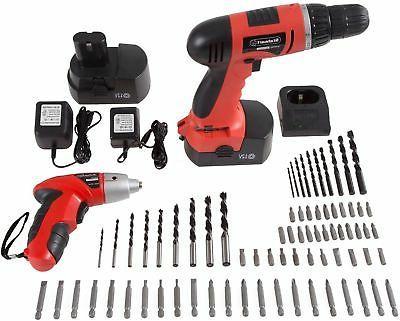 combo cordless 74 pc drill driver screwdriver