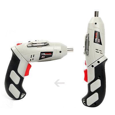 Cordless Drill Power Tools w/45Pcs Screwdriver Drill