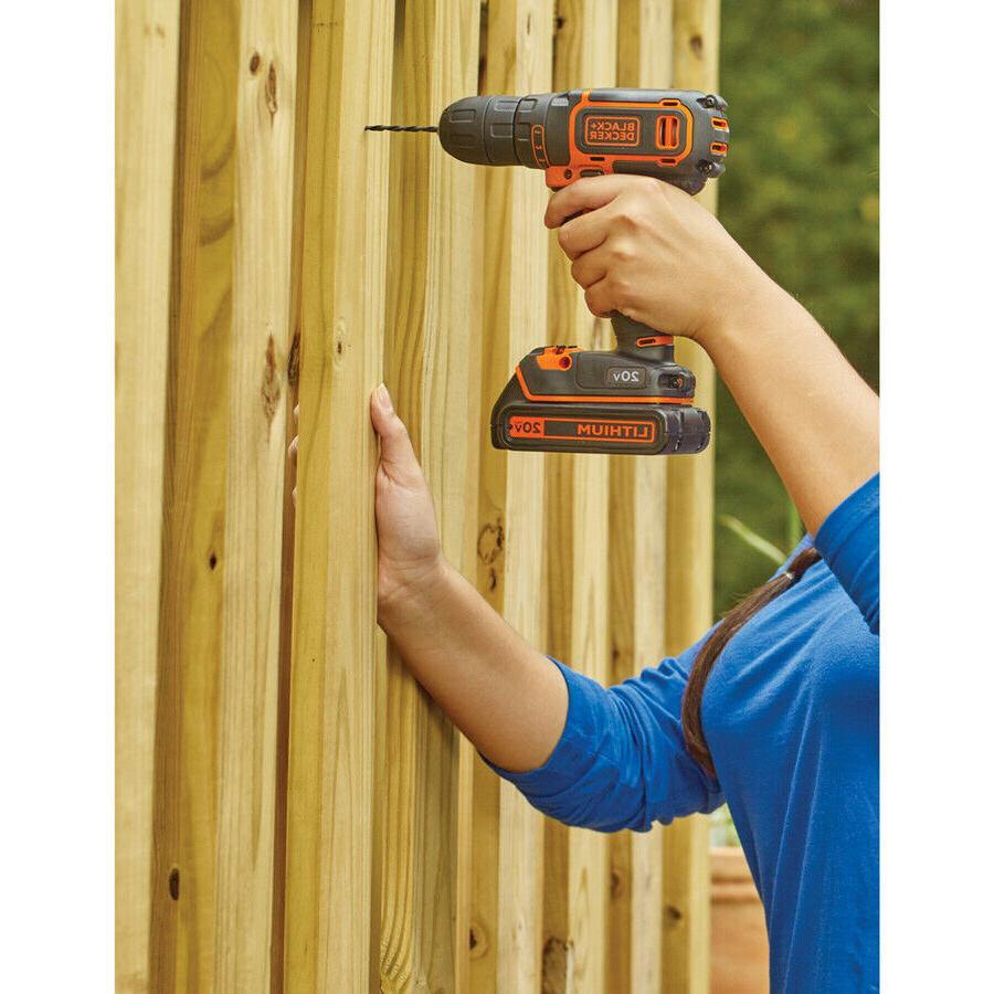 Cordless Drill Charger Included Lightweight,