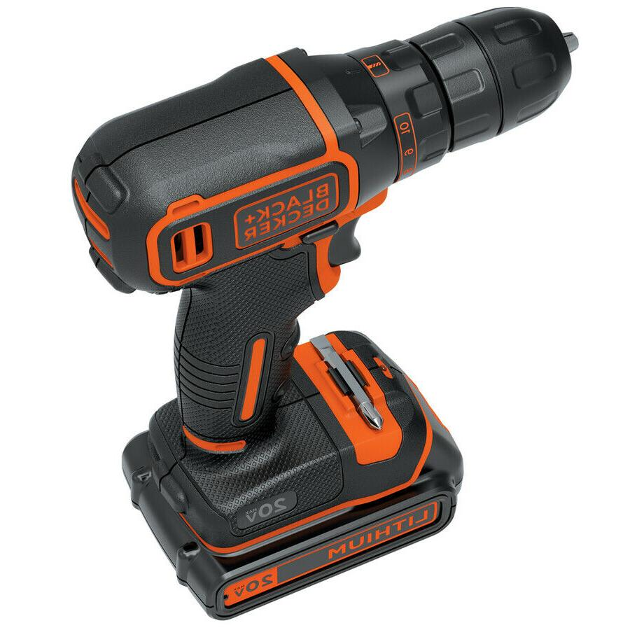 Cordless Drill Battery + Charger Comfortable, Lightweight, LED,
