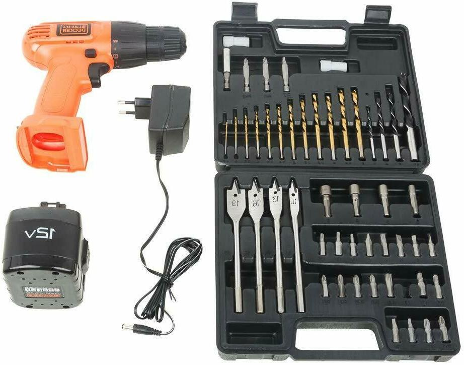 cordless drill black and decker portable handle