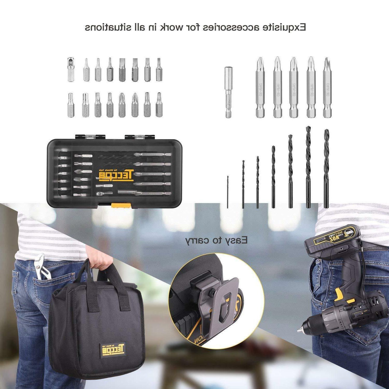 Cordless TECCPO 530 Drill Bat