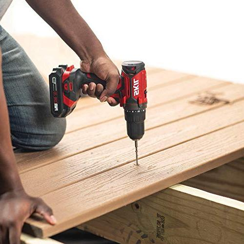 SKIL 3-Tool Cordless Impact Driver PWRAssist Charging Adaptor, Lithium Battery and - CB739101