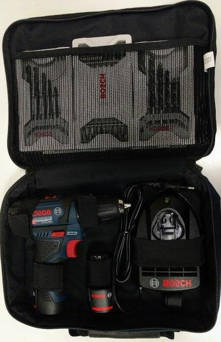 Bosch Cordless GSR 12V-15 12V 1.5Ah Accessories