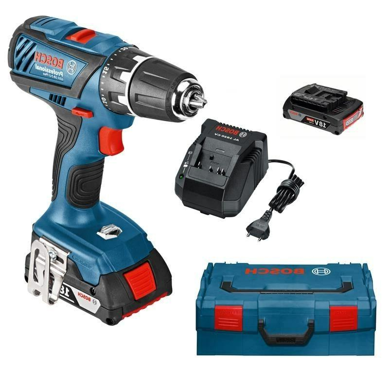 Bosch Cordless GSR Plus 18V Battery Voltage